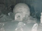 Igloo sculpture at Jungfraujoch
