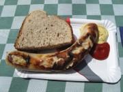 Bratwurst at Kleine Scheidegg
