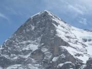 Jungfrau peak at Jungfraujoch