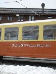 Train at Kleine Scheidegg