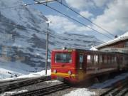 Train shed, Jungfraujoch