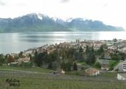 View of Lake Geneva, Lausanne