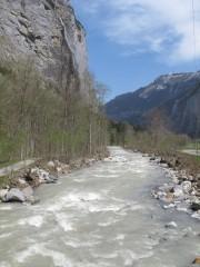 Walking from Stechelberg