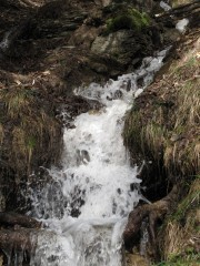 Waterfall, Gimmelwald