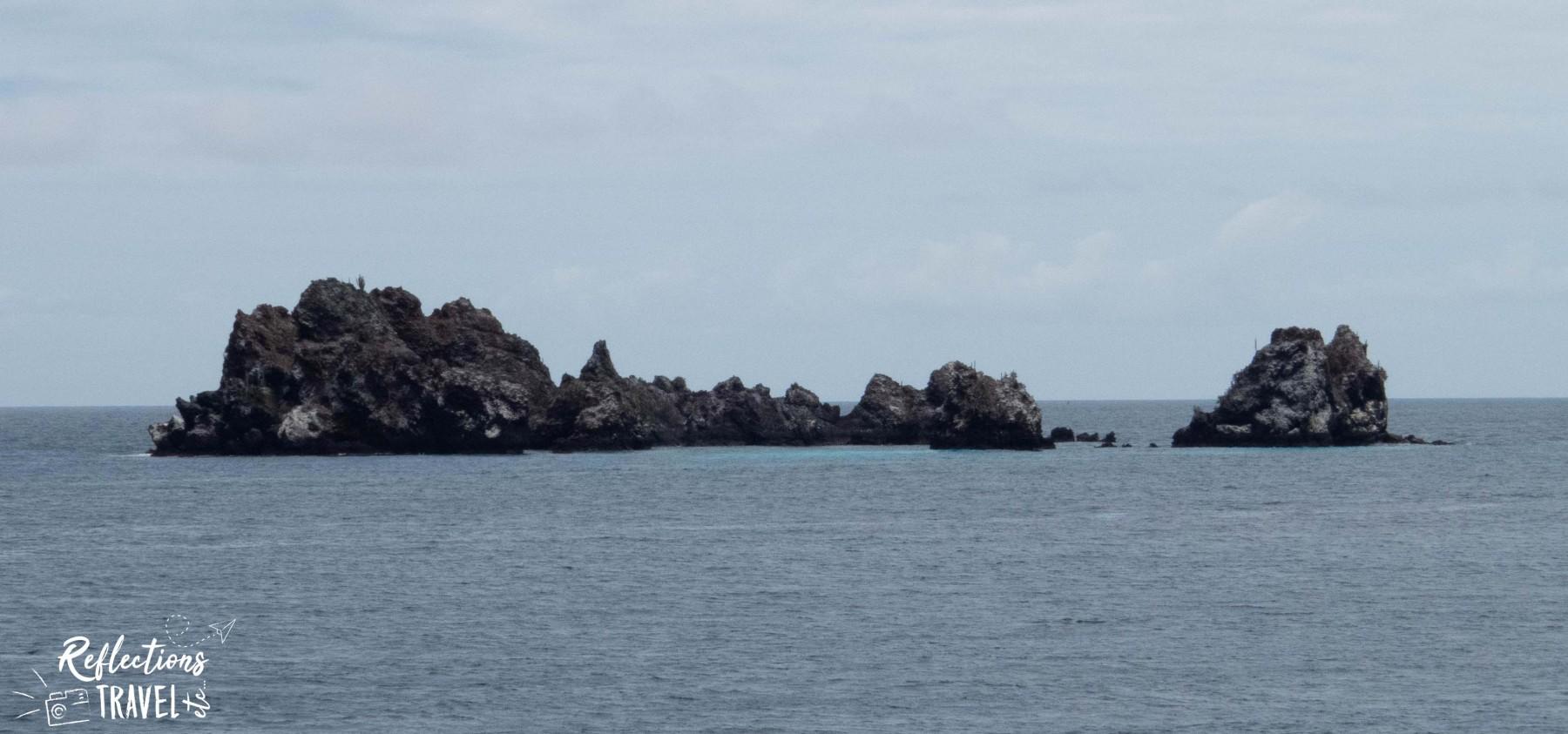 Devil's Crown off Isla Floreana