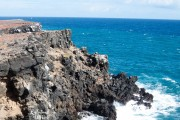 Cliffs off Isla Santa Fé