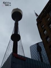 Sydney Tower from Market Street