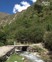 Rio Urubamba - Inca Trail, Day 1