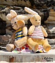 Old friends .... a day at the beach by Goldberg Aberline Studio