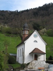 Village church, Lake Lucerne