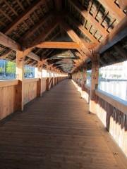 Walkway - Tower and Chapel Bridge (Kapellbrücke)