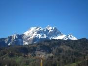Mount Pilatus from Lucerne
